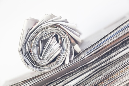 stack of newspaper Stock Photo - 17850113