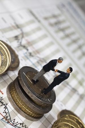 overheating: money concept Stock Photo