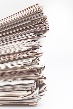 stack of newspaper Stock Photo - 23302267