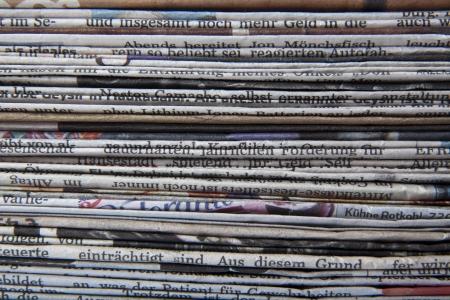 stack of newspaper Stok Fotoğraf