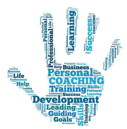 word cloud coaching photo