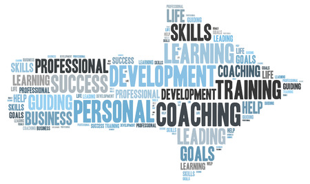 life coaching: COACHING word cloud