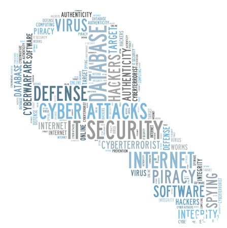 authenticity: IT SECURITY word cloud