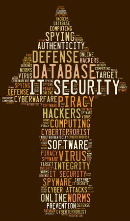 cyberwarfare: IT SECURITY word cloud