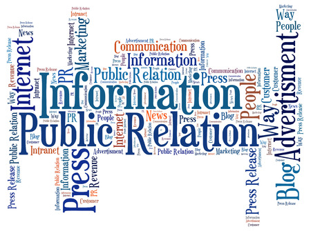Information word cloud photo