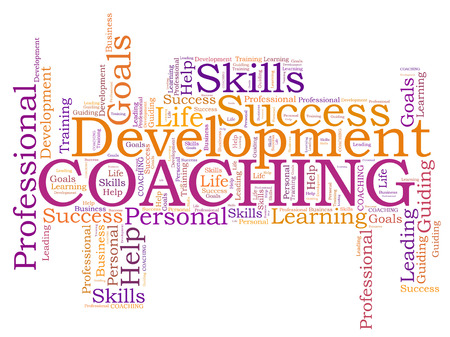 COACHING word cloud photo
