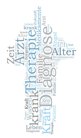 therapie: Therapy word cloud