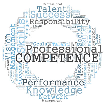 Competence word cloud photo