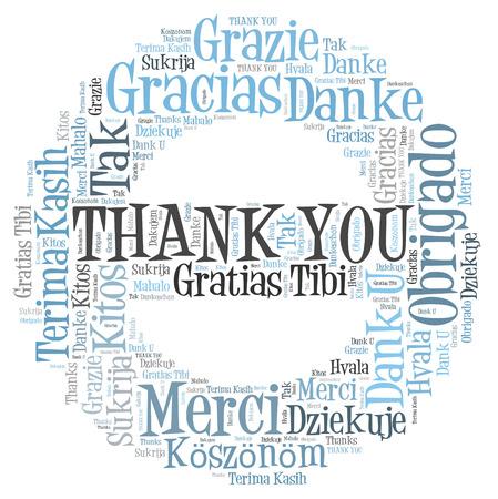 dank: Thank you word cloud