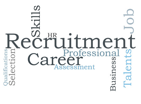 recruitment word cloud photo
