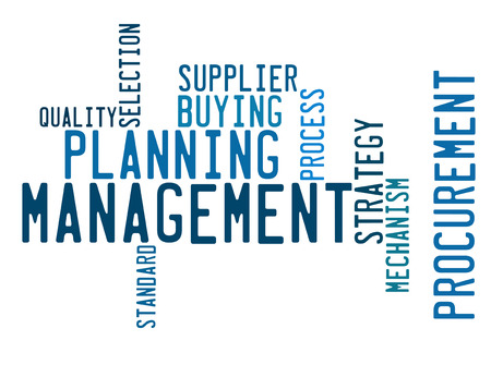 Management word cloud photo