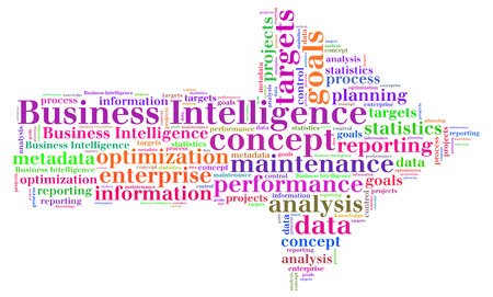 metadata: Business Intelligence word cloud