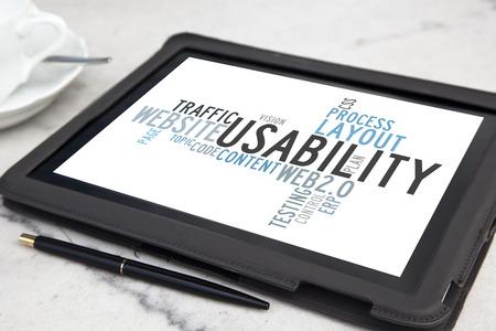 ユーザビリティ ソフトウェア word クラウドとタブレットします。