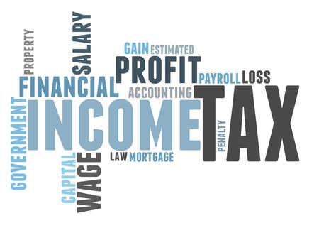 tax word cloud photo