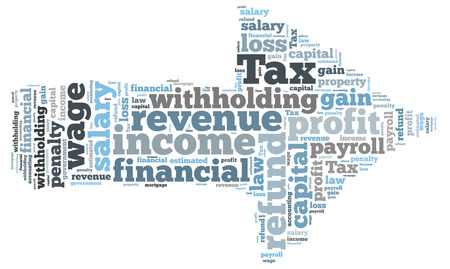 tax word cloud photo