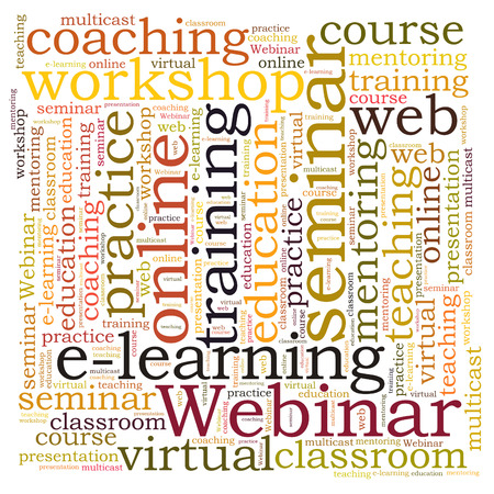 multicast: Webinar word cloud
