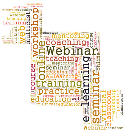 multicast: Webinar word cloud