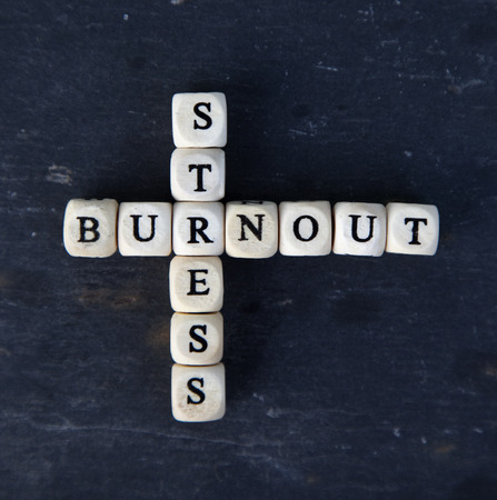 burnout: burnout and stress Stock Photo