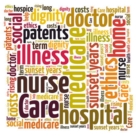 patents: care word cloud Stock Photo