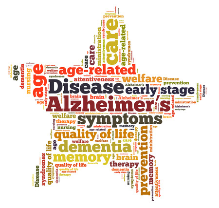 ministration: Alzheimers desease word cloud
