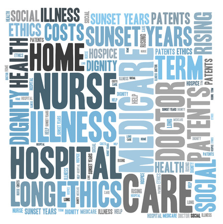 care word cloud Stock Photo
