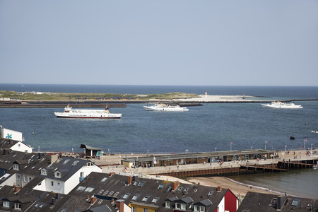 helgoland: Helgoland island in the german north sea