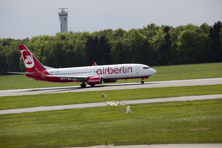 Air Berlin on the ground