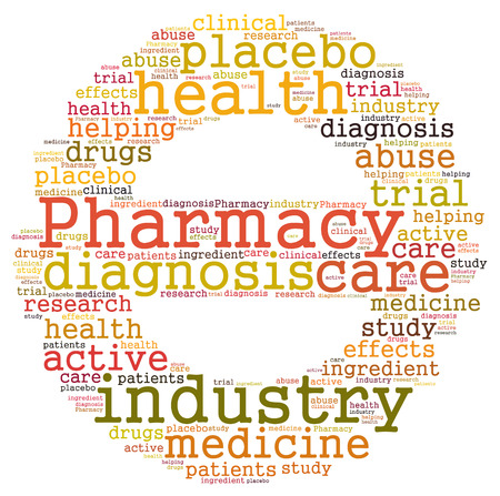 clinical trial: Pharmacy industry word cloud