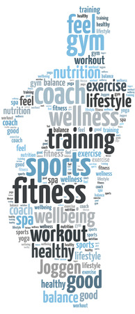 fitness and sports coach Stock Photo