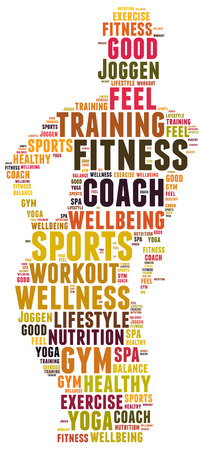 sports coach: fitness and sports coach Stock Photo