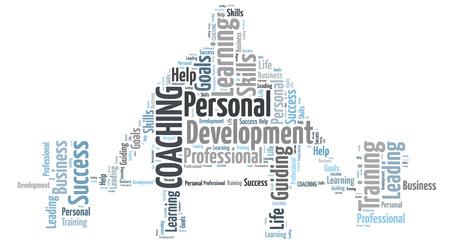 Persönliches Coaching Standard-Bild - 36914866