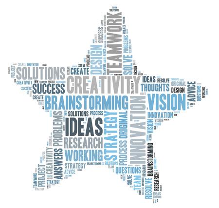 creativity: Creativity and ideas and vision Stock Photo