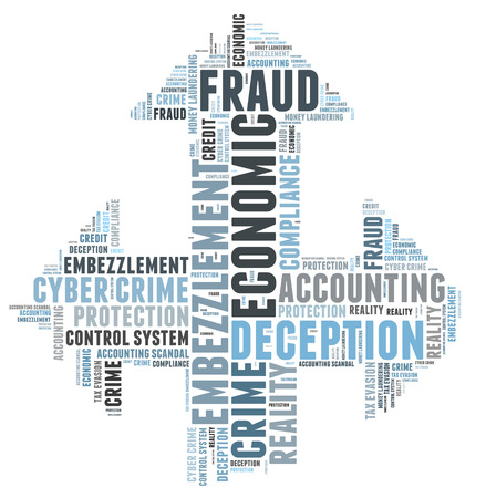 control fraud: Fraud word cloud