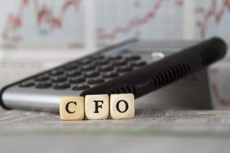 cfo: CFO built with letter cubes