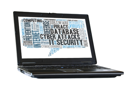 cyberwarfare: IT Security word cloud