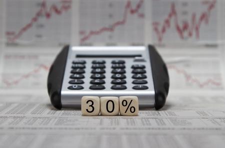 profit or loss: 30% de descuento, el resultado del ejercicio