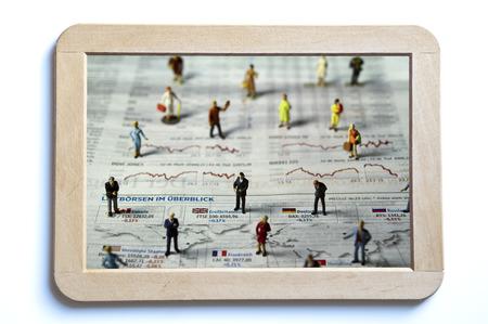 financial market: global financial market Stock Photo