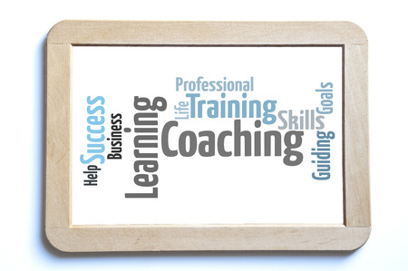 learning new skills: Personal learning word cloud Stock Photo