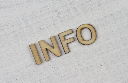 inform information: Information Stock Photo