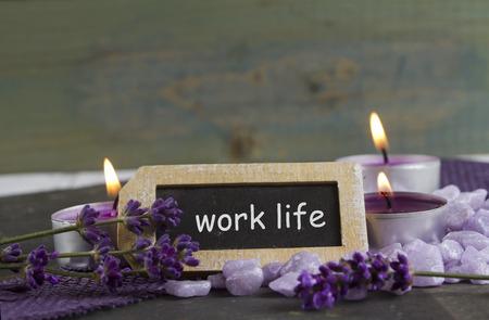 esot�risme: work life Banque d'images