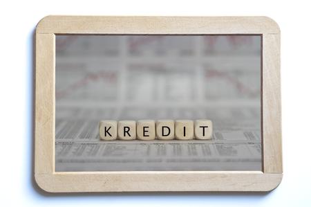 repayment: credit Stock Photo