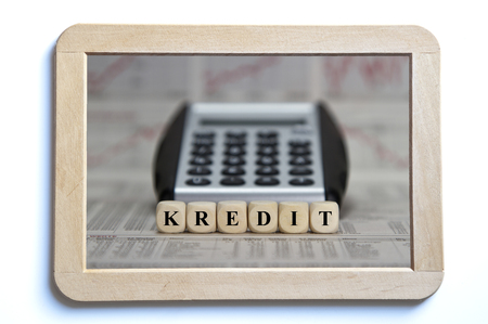 restructuring: credit Stock Photo