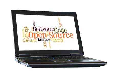 open source: Open Source Software word cloud