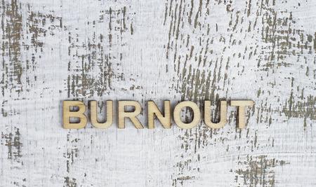 psique: Burnout Foto de archivo