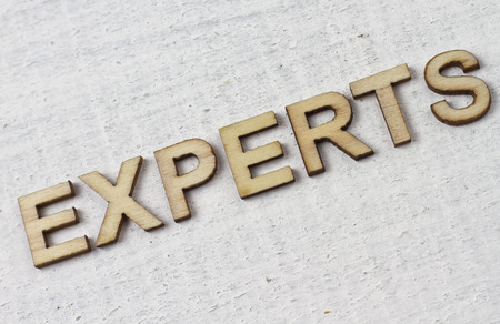 experts: EXPERTS Stock Photo