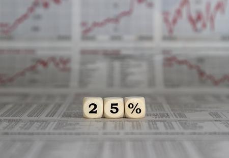 profit or loss: 25% de descuento, el resultado del ejercicio
