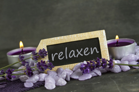 Relaxing and wellbeing Stock Photo