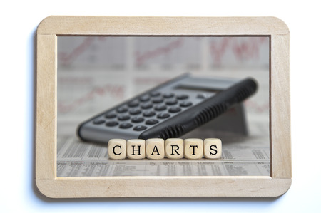 realtime: Charts Stock Photo