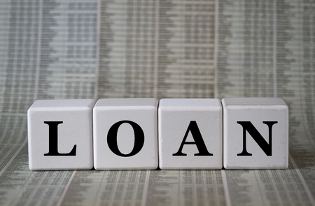 restructuring: Loan Stock Photo
