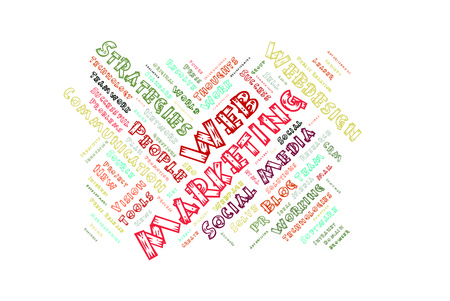 web marketing: Web Marketing word cloud